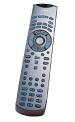 integra remote - dvd dimensions
