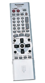 panasonic remote - dvd dimensions