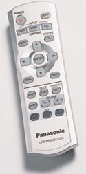 panasonic - lcd - remote