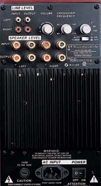 Wharfedale Pacific Evolution System - back