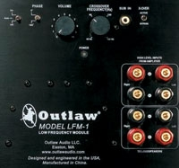 Outlaw Audio LFM-1 back