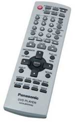 Panasonic DVD-F87S remote