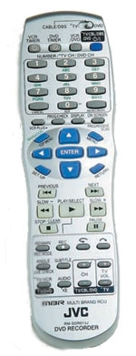 JVC DR-MV1 remote