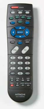 hitachi 46 inch remote