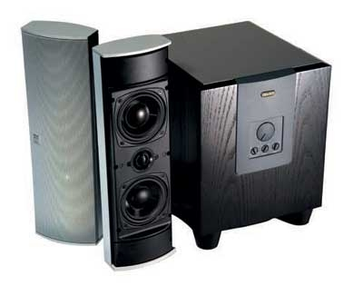 Boston Acoustics Plasma speakers