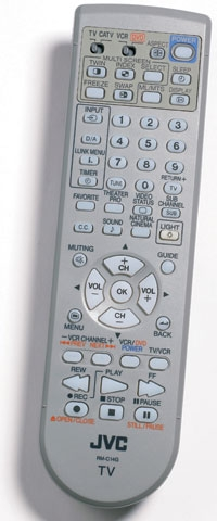 JVC HD-70FN97 70-inch HD-ILA Rear-Projection HDTV Remote