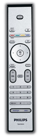 Philips 42PFL7432D 42-inch LCD HDTV Remote