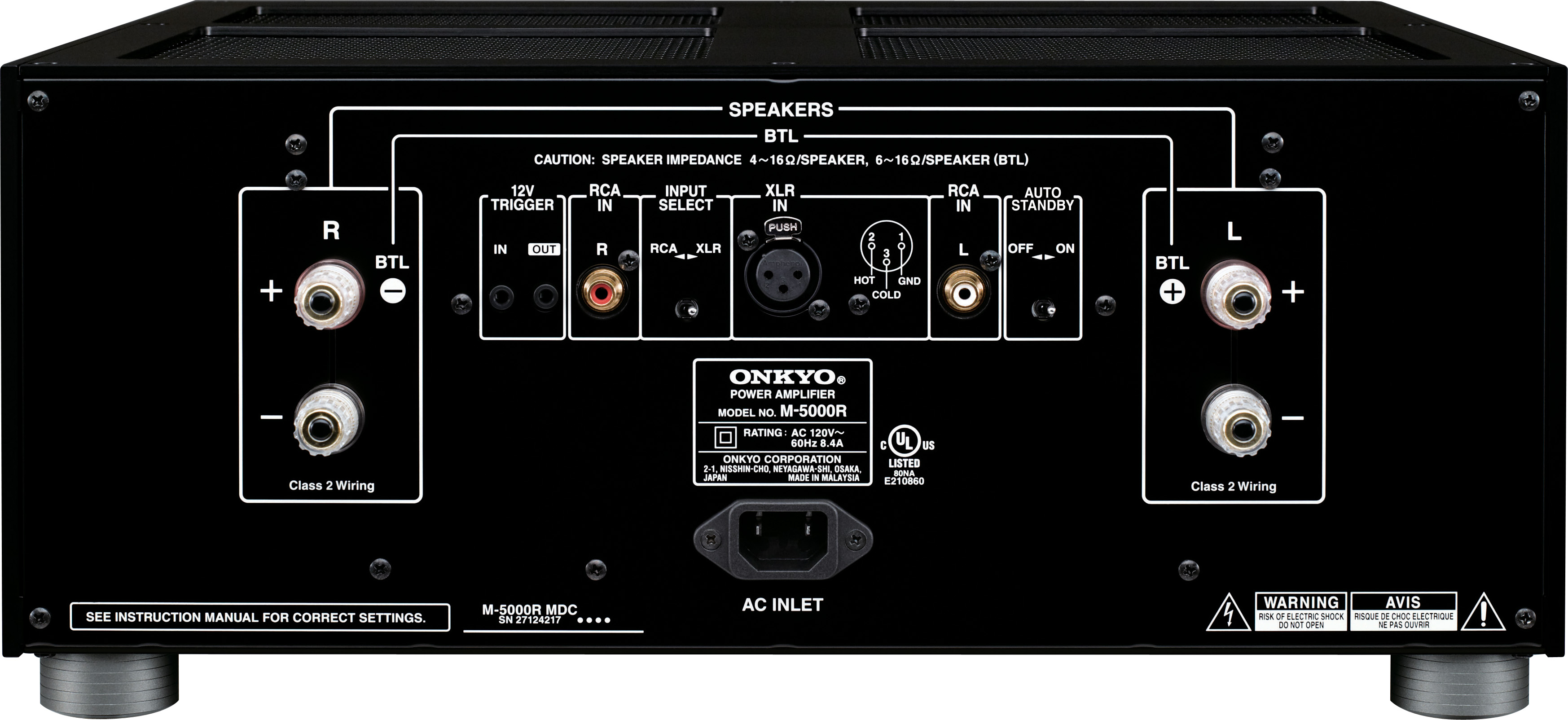 Test Report: Onkyo P-3000R preamp and M-5000R power amp Page 2