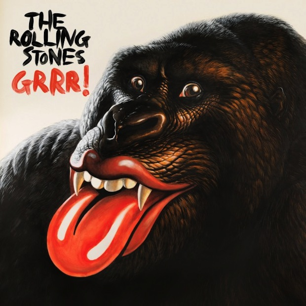 Rolling Stones Grrr! Cover image