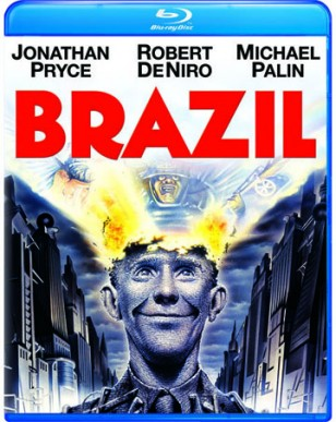 The cover of the Blu-ray release of Terry Gilliam's Brazil
