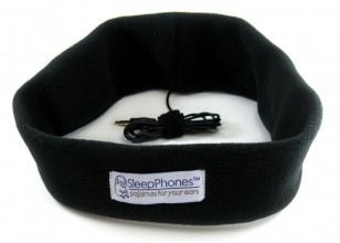 SleepPhones in black