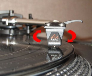 Turntable Setup Azimuth
