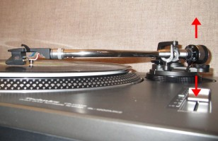 Turntable Setup VTA
