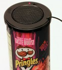 The Pringles Can Speaker in Action