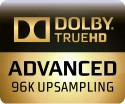 Dolby TrueHD Advanced 96K Upsampling Badge