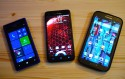 HTC 8x and Droid DNA with Samsung Note II