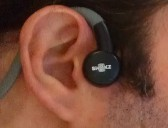 AfterShokz earphones worn by Michael