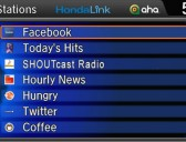 HondaLink interface