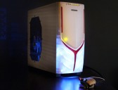 Cyberpower HTPC, illuminated case