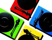 Rainbow assortment, Pro-Ject Carbon Debut Turntables