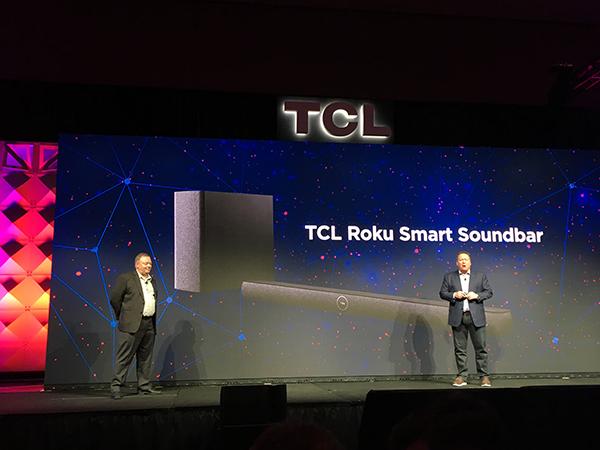 TCL Revamps TVs, Bows Roku Soundbar for 2018
