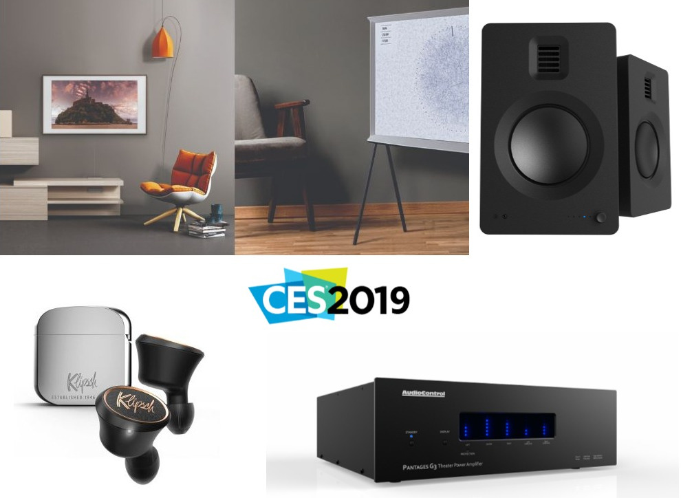 CES 2019 Preview: Samsung, Kanto, Klipsch & More