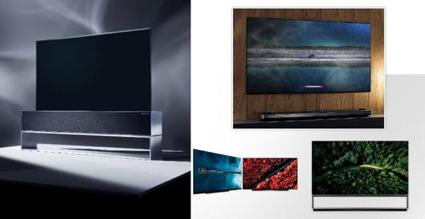 8K, Roll-up OLED, Big Screens Top LG's 2019 TV Lineup