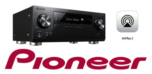 Pioneer Announces its First AVR with AirPlay 2