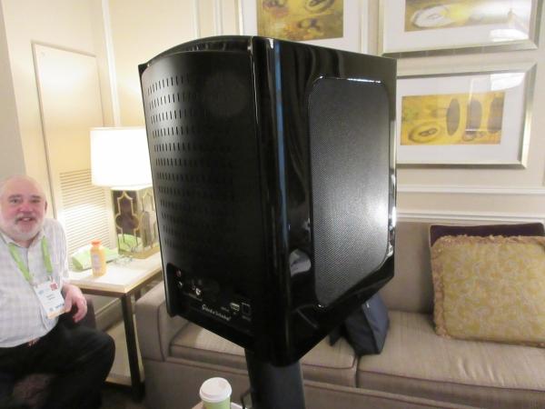 GoldenEar Shows Active Speaker Prototype