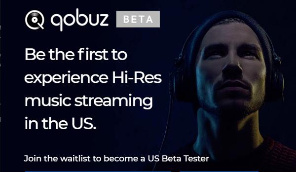 Qobuz: Registration for U.S. Beta Now Open
