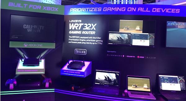Linksys Demos Killer Gaming Router