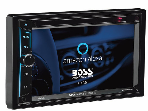 Alexa Makes its Debut in Aftermarket Car Audio