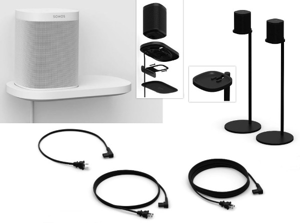 Sonos Introduces Accessories for Sonos One & Play:1