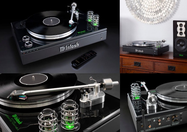 McIntosh Unveils One-of-a-Kind 'Integrated Turntable'