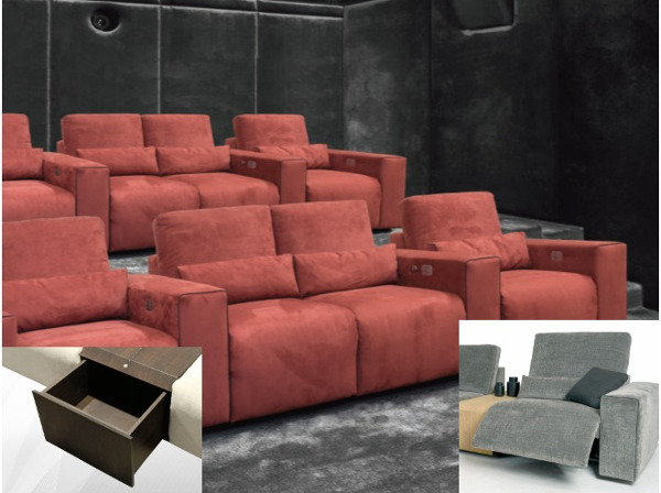 Cineak Previews Modular Entertainment Sofa