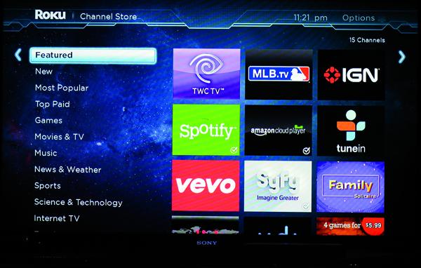 Roku 3 Media Streamer | Sound & Vision