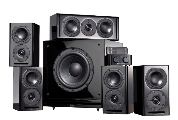 Rsl 5 1 Theater Speaker System Sound Amp Vision