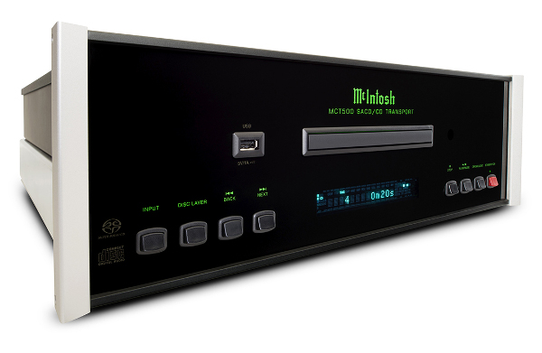 McIntosh Product Flow Continues with SACD Transport