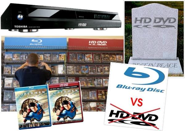 Flashback 2008: Toshiba Gives Up HD DVD
