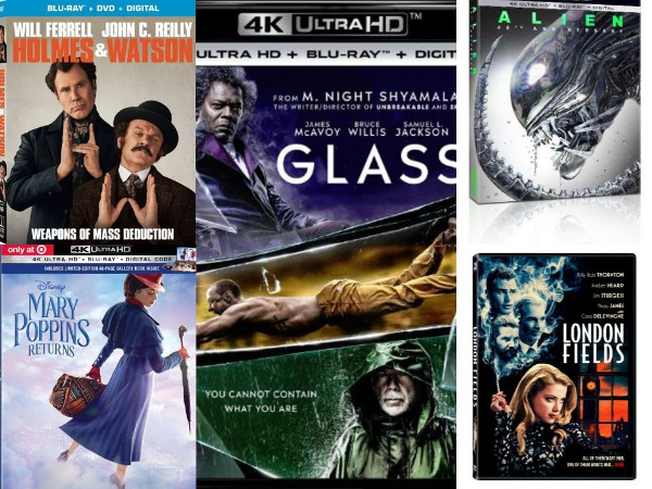 Roundup: Movies Headed for 4K Blu-ray (or Not)
