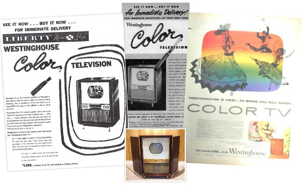 Flashback 1954: Westinghouse Unveils World's First Color TV