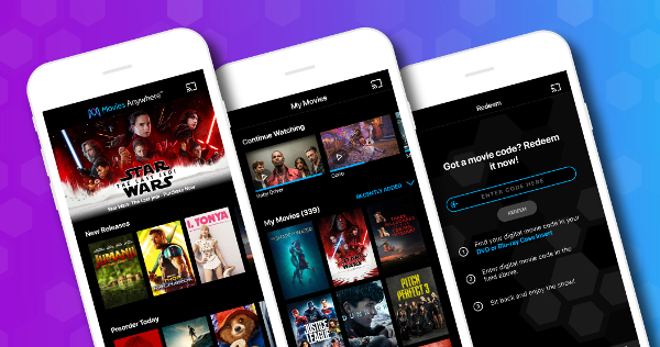 FandangoNow Joins Movies Anywhere Streaming Service
