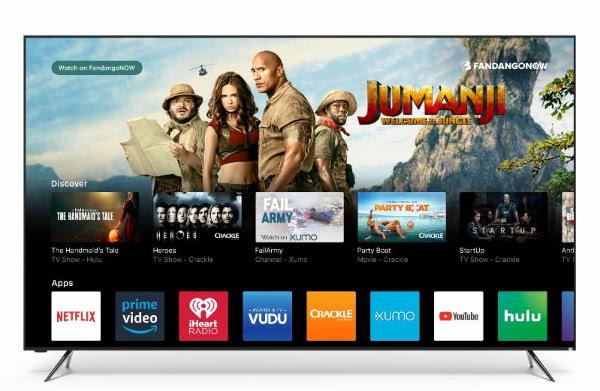 Vizio Rolls Out 2018 SmartCast OS to 2016-2017 TVs