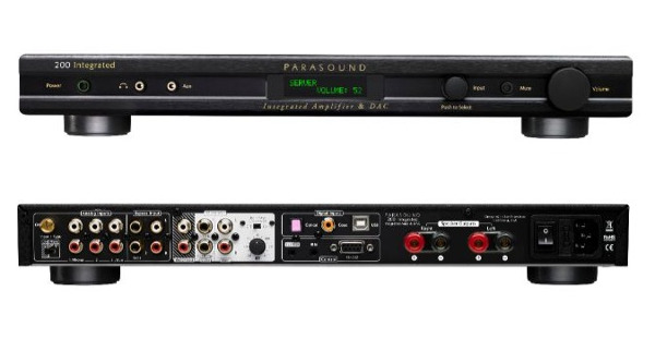 Parasound Readies Integrated Amp/DAC for Summer Delivery