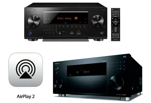 Onkyo and Pioneer Receivers Get AirPlay 2 Update