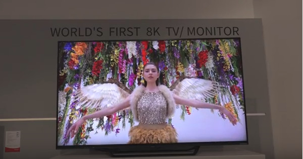 Sharp Expands Distribution of 8K TV