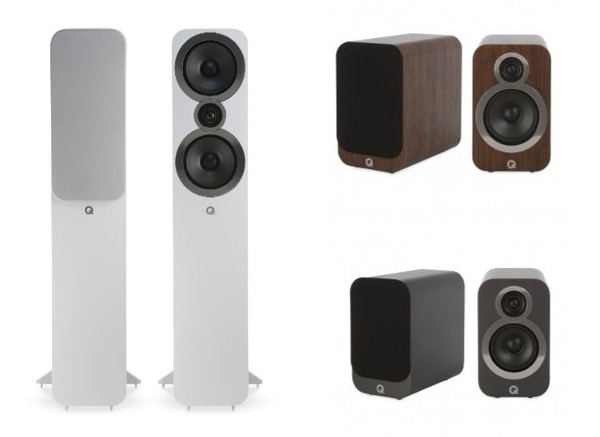 Q Acoustics Goes for 'Bigger Sound' With New 3000i Speaker Series