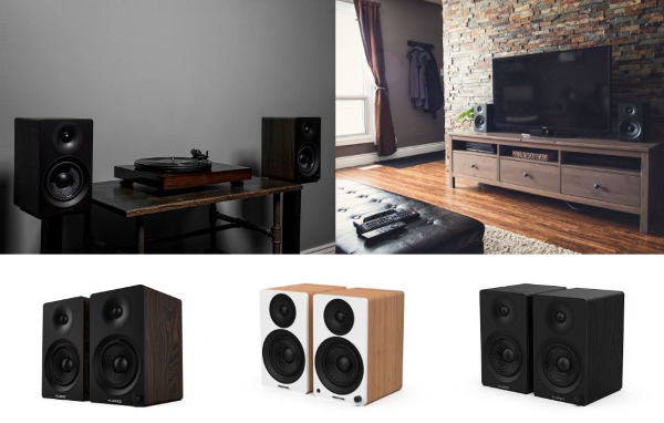 Fluance Launches its First Powered Bookshelf Speakers
