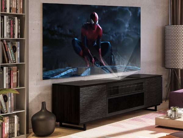 Salamander Creates Credenza For Sony Short Throw Projector