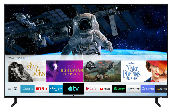 Samsung Adds Apple TV App, AirPlay 2 to 2019 TVs